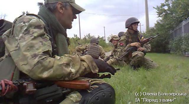 Правий Сектор. Бій під Карлівкою (Фото, відео).