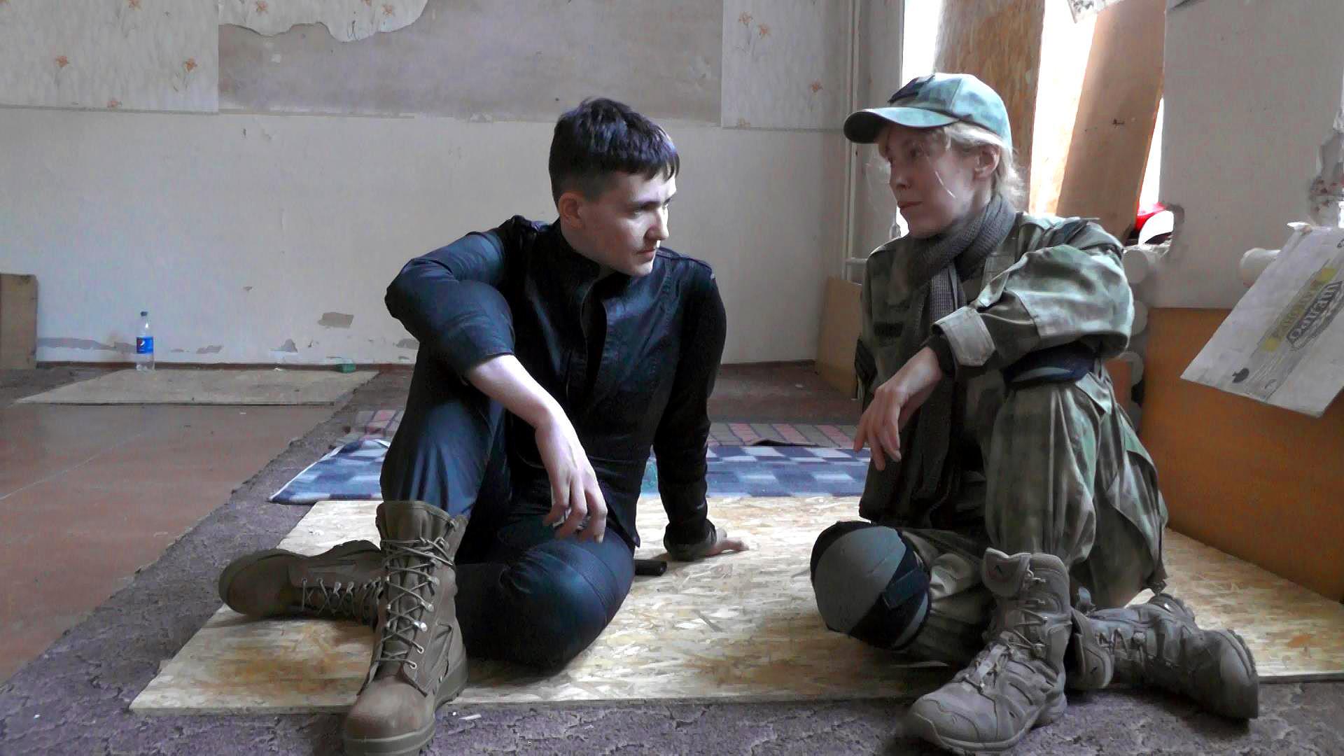 """Надія Савченко: """"Ти завжди носи з собою гранату"""" (ВІДЕО)"""