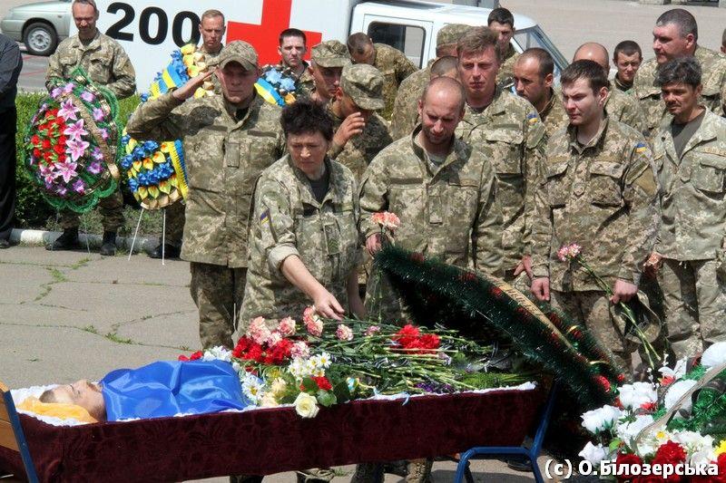 Сьогодні у Маріуполі попрощалися з трьома загиблими нещодавно воїнами з 56-ї бригади