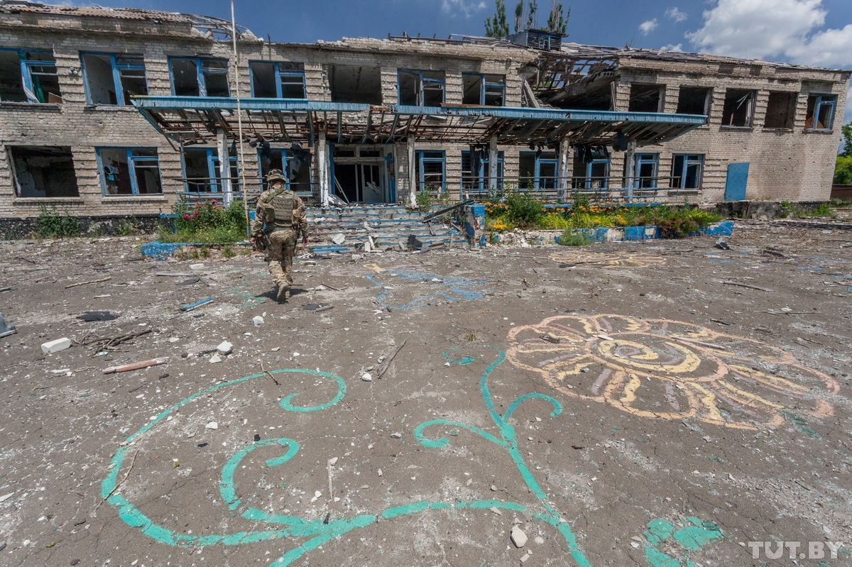 Репортаж білорусів про Широкине