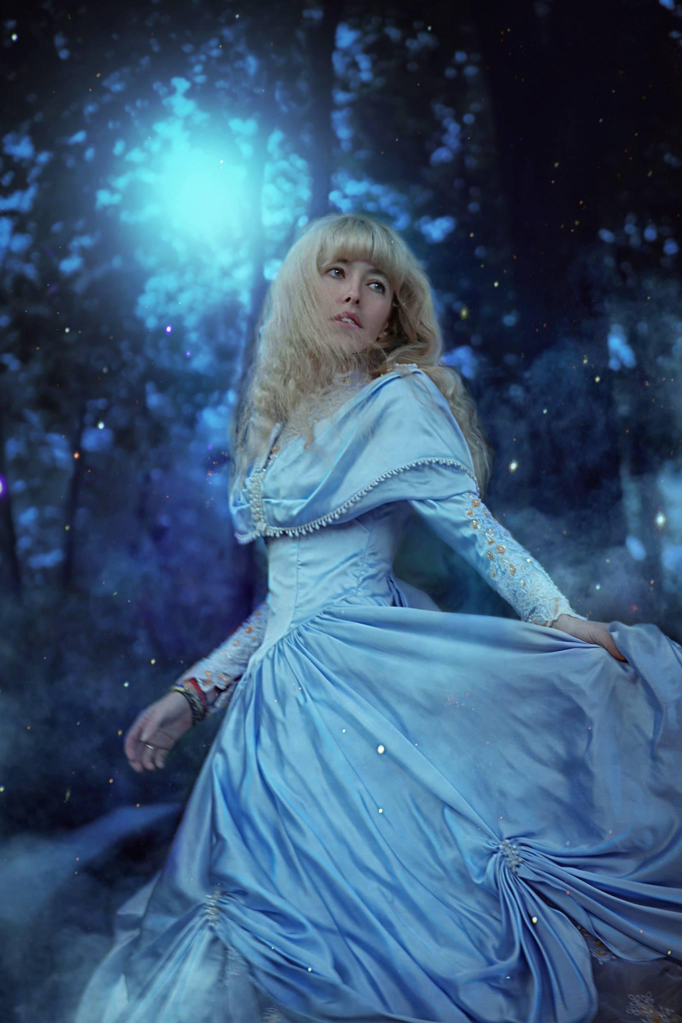Я в ролі казкової героїні – Попелюшки :)