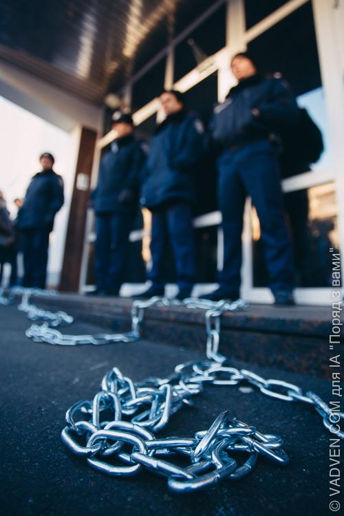 Пікетування МВС за відставку Захарченка: художній фоторепортаж від колеги