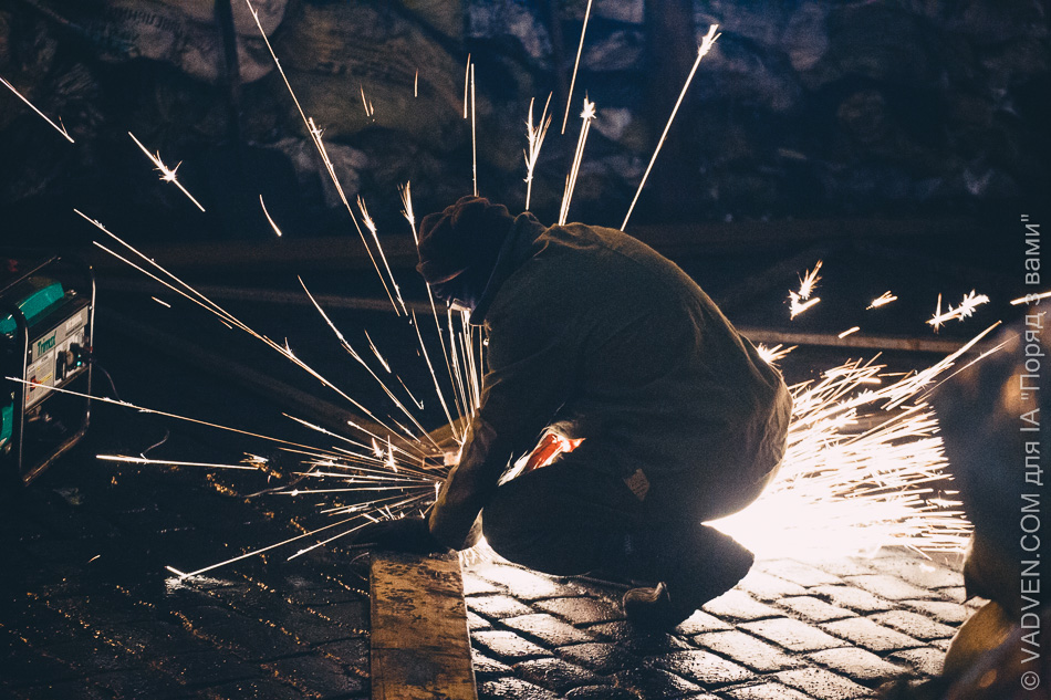 Ретроспектива. Розблокування Грушевського 17 лютого. Художній фоторепортаж від VADVEN