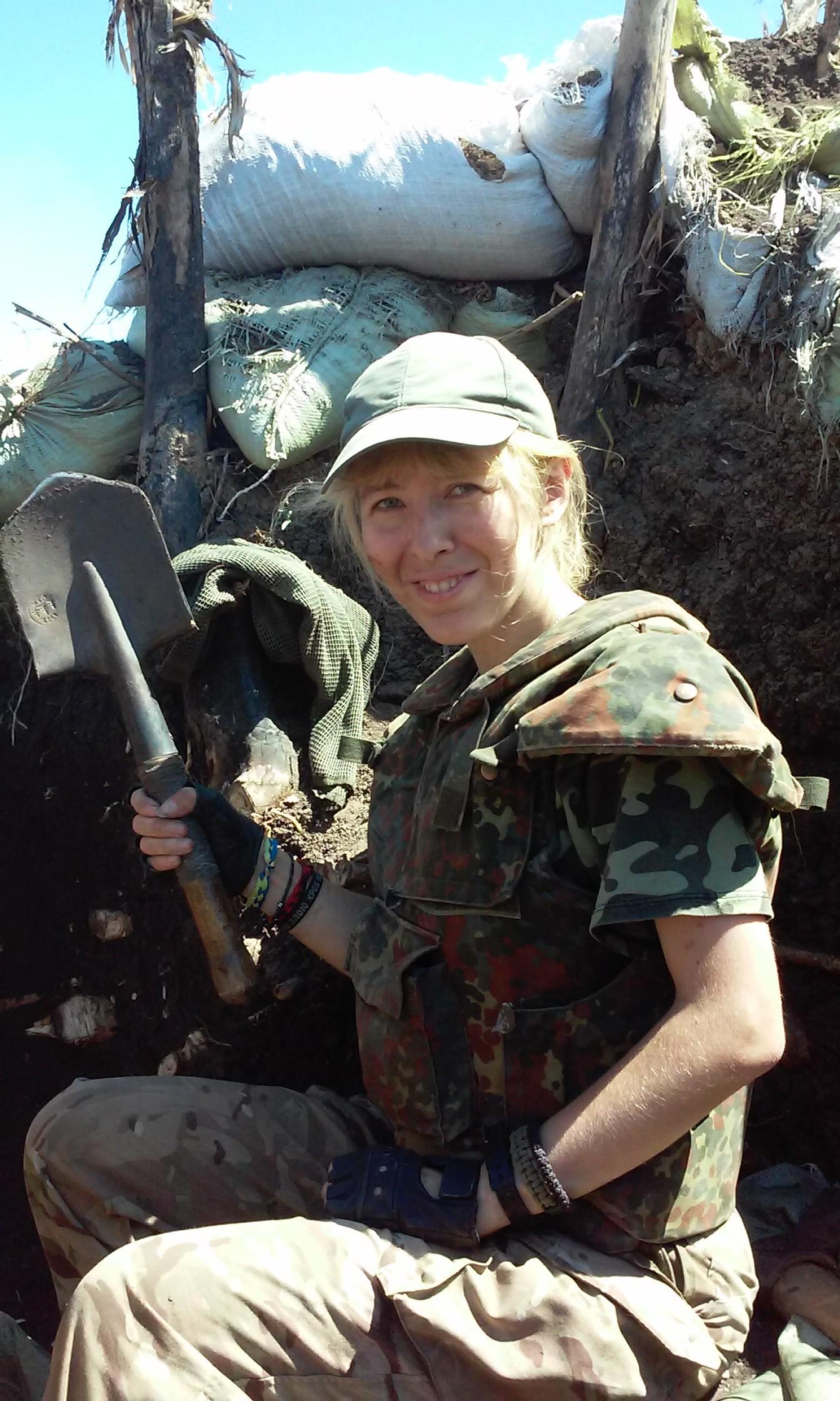 Головна зброя позиційної війни :)