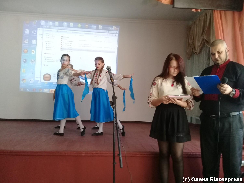 Маріупольські діти вітають морпіхів (503 ОБМП) з річницею Майдану