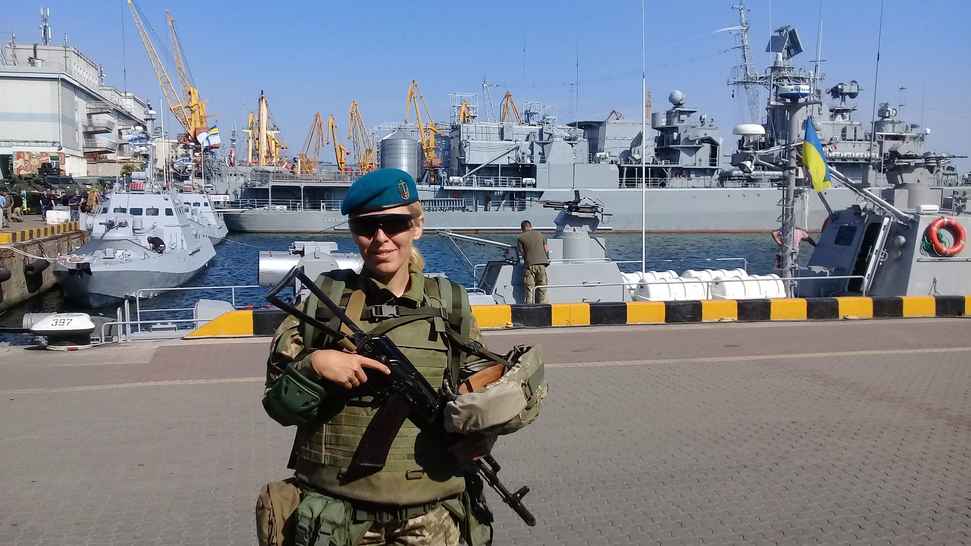 """Одеса, День ВМС (8 липня 2019), """"Гетьман Сагайдачний""""."""