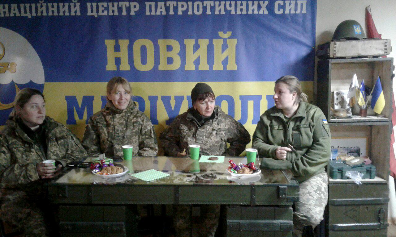 Анонімний клуб жінок-військовослужбовців :)