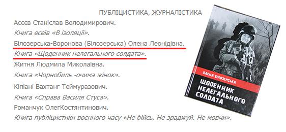 """""""Щоденник нелегального солдата"""" вийшов у другий тур"""