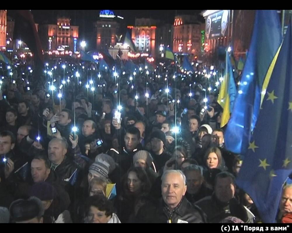 Дотанцювалися. Євромайдан перед розгоном (ФОТО, ВІДЕО)