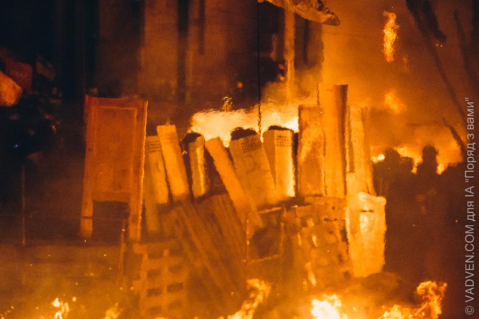 Бої за Майдан 18-19 лютого. Художній фоторепортаж від VADVEN