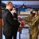 Нові фото з зустрічі з президентом Литви