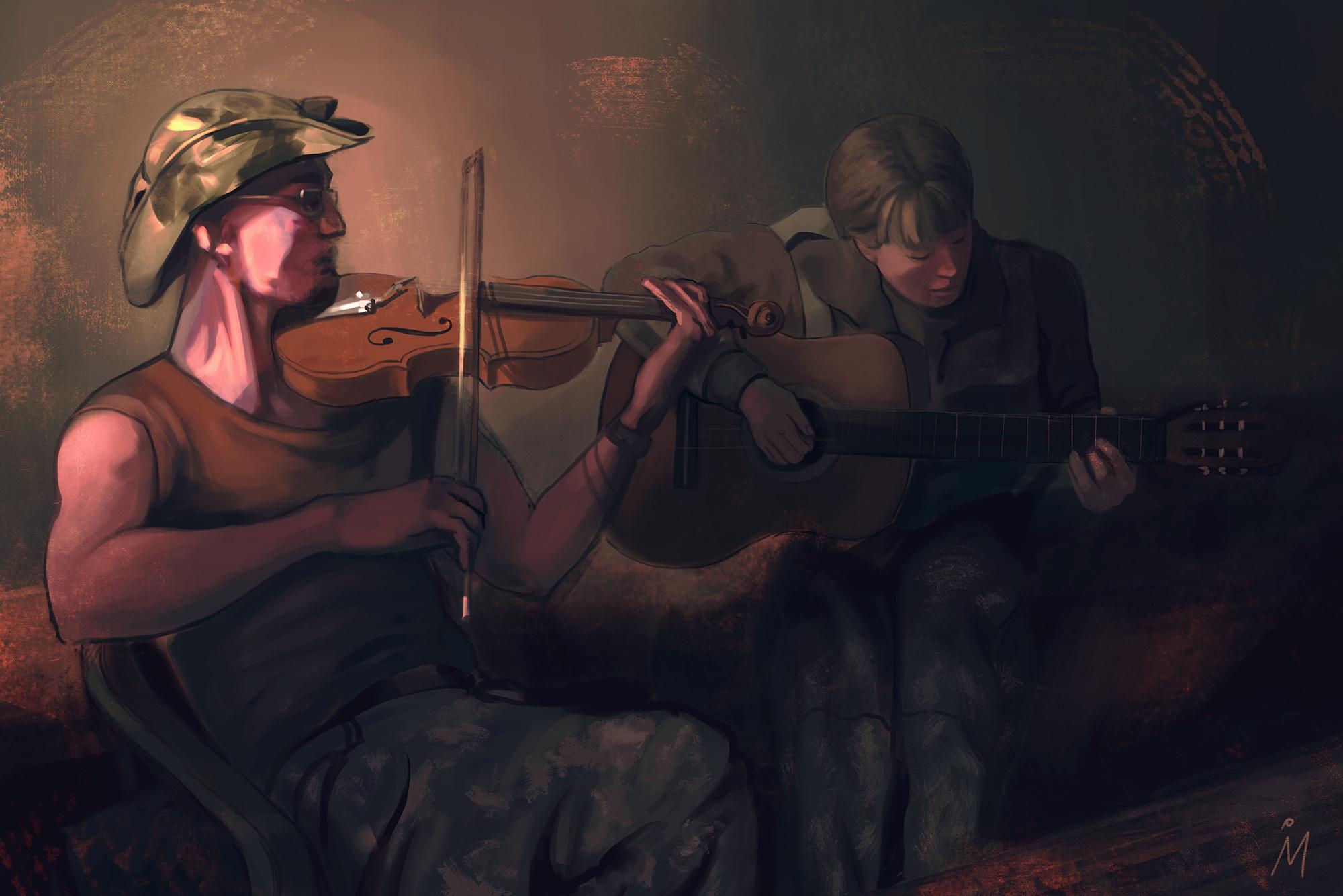 """Ірена Миколів завершила серію малюнків за мотивами книги """"Щоденник нелегального солдата"""""""